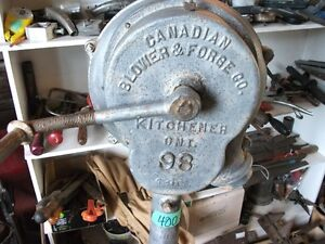 Antique Forge Blower