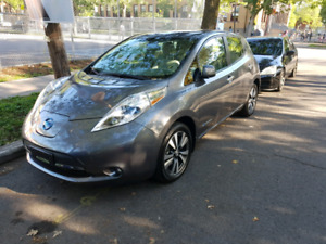 Nissan Leaf SV 2015, Chademo, quickcharge, navigation, AC auto