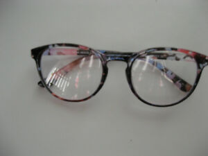 NEW  MUSE Blue Floral Eyeglasses For Women