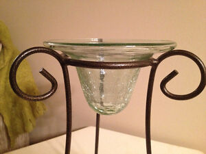 Beautiful Glass Candle Stand London Ontario image 2