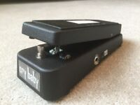 DUNLOP CRYBABY WAH WAH GUITAR PEDAL, CONDITION NEW.