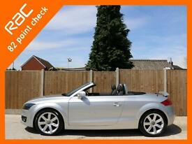 2007 Audi TT 2.0 FSI Auto Convertible Cabriolet Electric Soft Top Full Leather C