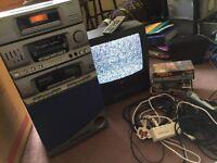 Karaoke system - Goodmans - TV video combi
