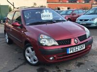 Renault Clio 1.2 Petrol + JUST 59,000 MILES + MOT TILL JAN 2017 + SUPERB CAR
