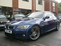 2011 11-Reg BMW 325 3.0TD d M Sport Coupe,FULL LEATHER,ELEC SEATS!!!