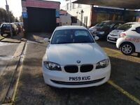 BMW 1 SERIES 116d SPORT (white) 2009