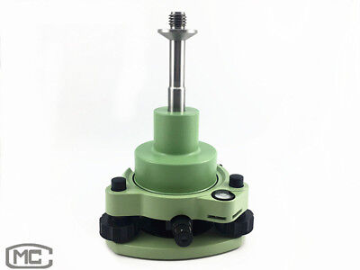 New Green Three-jaw Tribrach With Optical Plummet Adapter For Prism Set