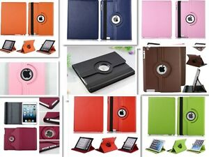 360 ROTATING CASE COVER WITH STAND FOR IPAD MINI, AIR, 3, 4