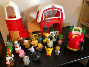 Ferme + tracteur Fisher Price