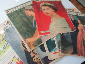 8 1950s Newspapers  - Royal Family