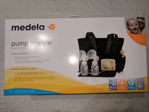 Medela Pump In Style Slouch Bag Breast Pump  BRAND NEW SEALED IN
