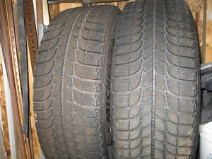 SNOW TIRES FOR A TRUCK