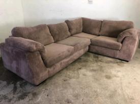 Fabric Corner sofa couch suite 🚚🚚