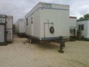 Onsite office trailers