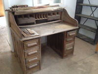 Old Roll Top Desk for Restoration