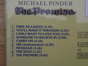 """FS: Mike Pinder (The Moody Blues) """"The Promise"""" Autographed CD London Ontario image 3"""