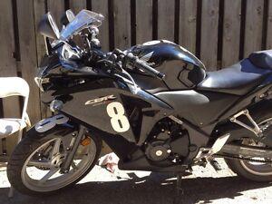 2011 Honda CBR250R ABS Black
