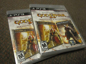 God of War - Origins Collection (PS3) - NEW, Sealed Box