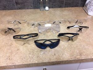 $20$ 10 PAIRS OF SAFETY GLASSES $20$