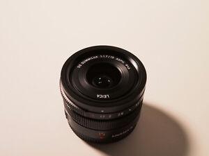 Panasonic LEICA DG SUMMILUX 15 1.7 ASPH prime lens in box