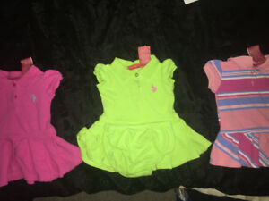 Baby girl 3-6m polo dresses
