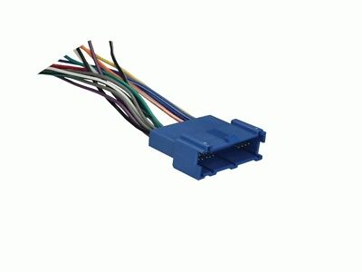FOR SELECT 1994-2001 OLDSMOBILE Radio Wiring Harness Adapter -