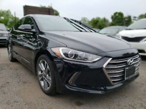 2017 HYUNDAI ELANTRA LIMITED. NAVIGATION. SUNROOF. LEATHER SEATS