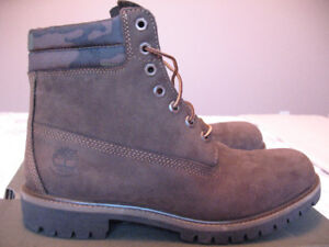 Brand New with Box - Men's Brown/Camo Timberland Boots Size 11