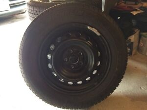 Tires and Rims - 195/65R15 Only used 4 weeks $800 Firm