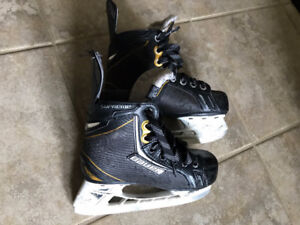 "Bauer Supreme ""ONE.6"" Skates Size 13 Youth $25"