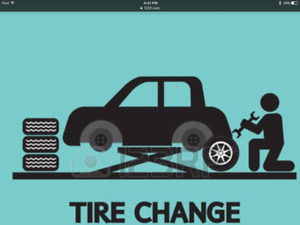 Tires, tire change overs