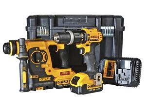 dewalt dck206m2t 18v xr li ion cordless twinpack sds. Black Bedroom Furniture Sets. Home Design Ideas