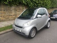 Smart Fortwo 1.0 Passion 2008, 65,000 Miles, Automatic, HPI Clear
