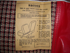 1955 & 1956 Ford & Mercury New Old Stock factory seat covers London Ontario image 4