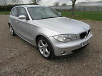 2006 BMW 1 SERIES 118 2.0 I SE MANUAL PETROL 5 DOOR HATCHBACK