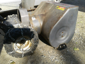 LG. CRAFTSMAN REPAIRED 10/30 SNOWBLOWER*CHASSIS ONLY(NO ENGINE)