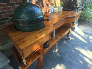 Big green egg tables