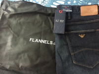 Brand New Mens Armani Jeans J06 34W 34L Slim fit BOUGHT FROM FLANNELS