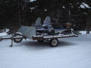 Skidoo trailer/2 -1993 Enticer II LT