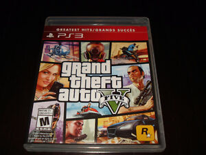 Jeux PS3, Grand Theft Auto 5.