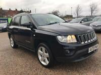 2011 61 JEEP COMPASS 2.1 CRD LIMITED 2WD 5D 134 BHP DIESEL