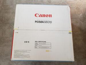 PRINTER FOR SALE Canon PIXMA MX310