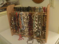Display Rack With 290+ Necklace All For $80