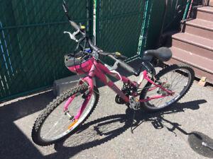 Vélo fille (enfant)