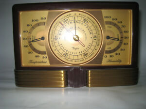 Taylor Ins Co  TEMPERATURE HUMIDITY BAROMETER Station