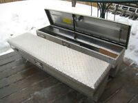 """PAIR OF ALUMINUM CHALLENGER 48"""" TOOL BOXES - Comes with Keys -"""