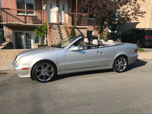 Mercedes convertible CLK320 2002
