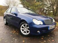 Mercedes-Benz C180 Kompressor 1.8 auto Classic SE blue saloon on FINANCE