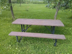 Terrasses et cl tures dans drummondville maison for Table exterieur kijiji sherbrooke
