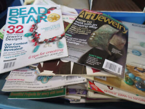 50 + JEWELERY MAGAZINES/BOOK